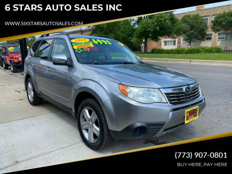 2010 Subaru Forester for sale at 6 STARS AUTO SALES INC in Chicago IL