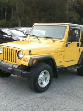2000 Jeep Wrangler for sale at Rooney Motors in Pawling NY