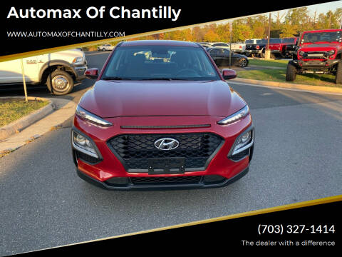 2021 Hyundai Kona for sale at Automax of Chantilly in Chantilly VA