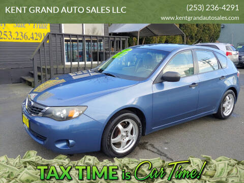 2008 Subaru Impreza for sale at KENT GRAND AUTO SALES LLC in Kent WA