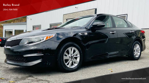 2018 Kia Optima for sale at Bailey's Pre-Owned Autos in Anmoore WV