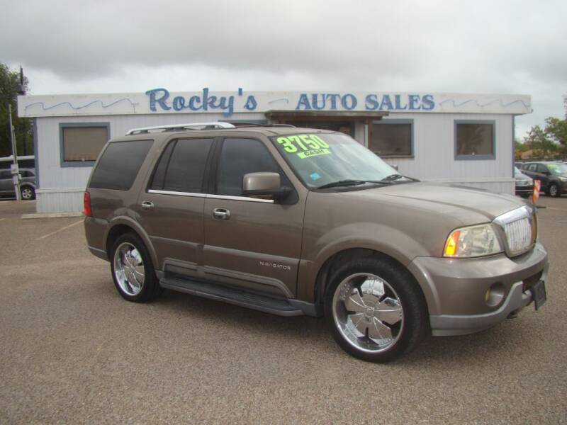 2003 Lincoln Navigator for sale at Rocky's Auto Sales in Corpus Christi TX