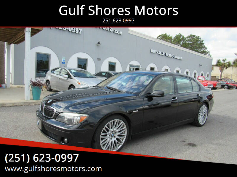2007 BMW 7 Series for sale at Gulf Shores Motors in Gulf Shores AL