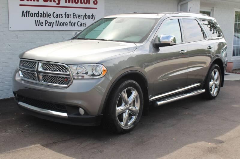 2013 Dodge Durango for sale at Oak City Motors in Garner NC