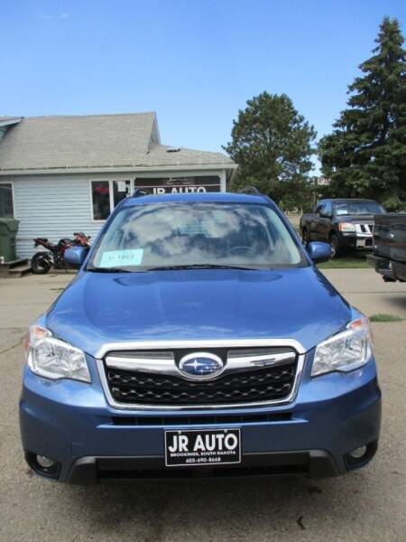 2015 Subaru Forester for sale at JR Auto in Brookings SD
