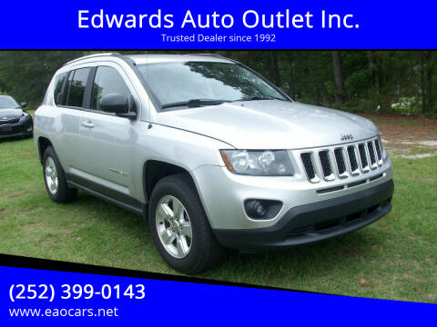 2014 Jeep Compass for sale at Edwards Auto Outlet Inc. in Wilson NC