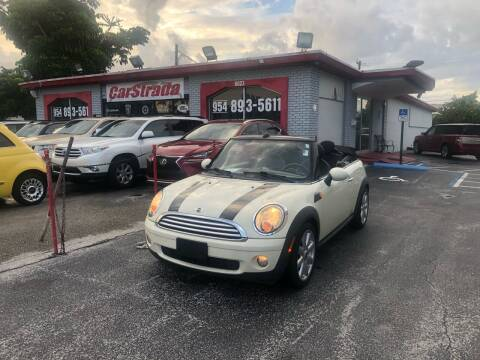 2010 MINI Cooper for sale at CARSTRADA in Hollywood FL