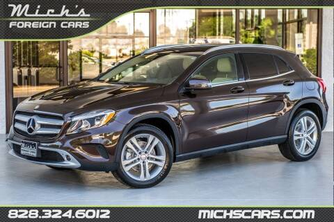2015 Mercedes-Benz GLA for sale at Mich's Foreign Cars in Hickory NC