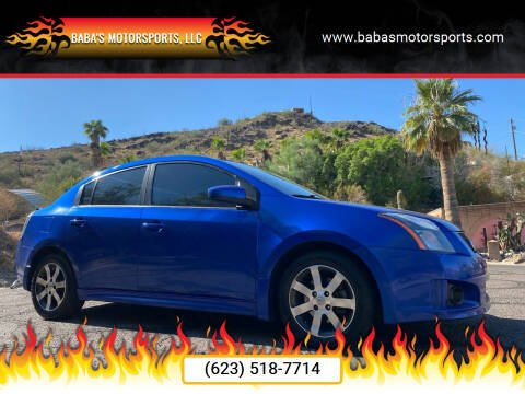 2012 Nissan Sentra for sale at Baba's Motorsports, LLC in Phoenix AZ