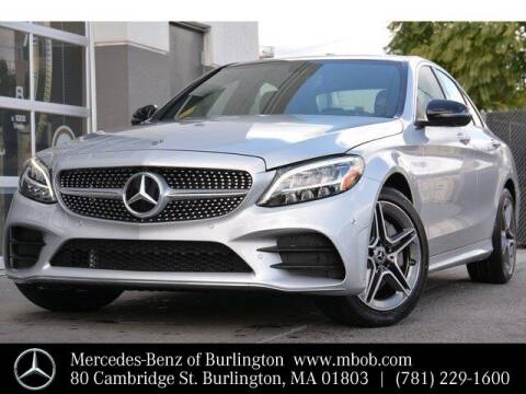 2020 Mercedes-Benz C-Class for sale at Mercedes Benz of Burlington in Burlington MA