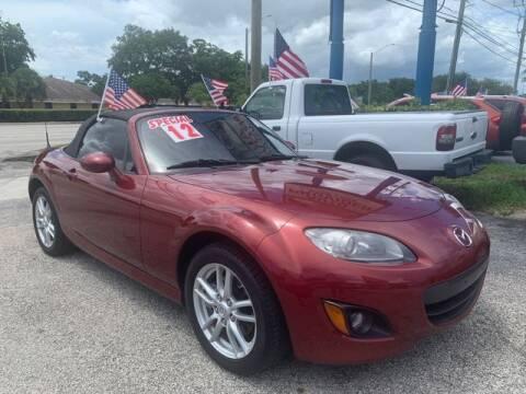 2012 Mazda MX-5 Miata for sale at AUTO PROVIDER in Fort Lauderdale FL