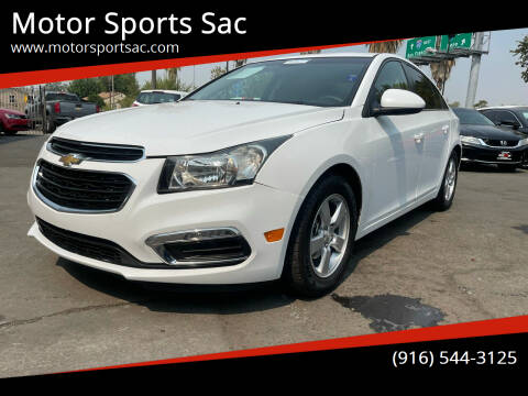 2016 Chevrolet Cruze Limited for sale at Motor Sports Sac in Sacramento CA