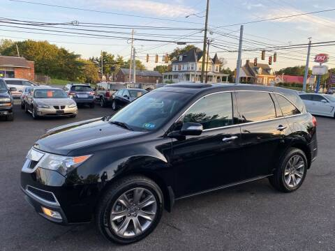 2010 Acura MDX for sale at Masic Motors, Inc. in Harrisburg PA