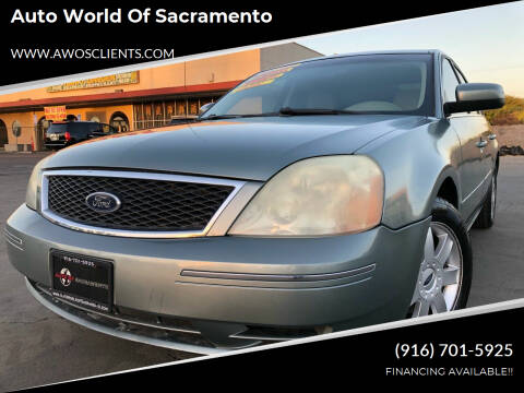 2005 Ford Five Hundred for sale at Auto World of Sacramento Stockton Blvd in Sacramento CA
