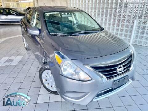 2016 Nissan Versa for sale at iAuto in Cincinnati OH