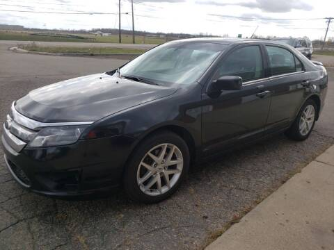 2012 Ford Fusion for sale at A+ Family Auto in Marshall MI