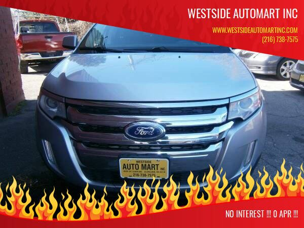 2011 Ford Edge for sale at WESTSIDE AUTOMART INC in Cleveland OH