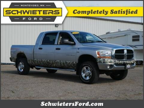 2006 Dodge Ram Pickup 1500 for sale at Schwieters Ford of Montevideo in Montevideo MN