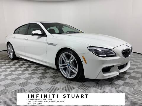 2017 BMW 6 Series for sale at Infiniti Stuart in Stuart FL