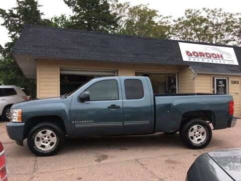 2009 Chevrolet Silverado 1500 for sale at Gordon Auto Sales LLC in Sioux City IA