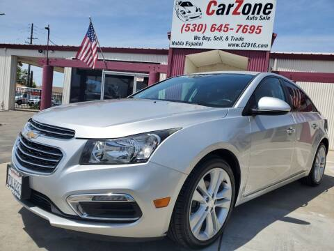 2016 Chevrolet Cruze Limited for sale at CarZone in Marysville CA
