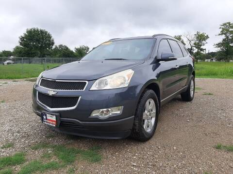 2011 Chevrolet Traverse for sale at LA PULGA DE AUTOS in Dallas TX