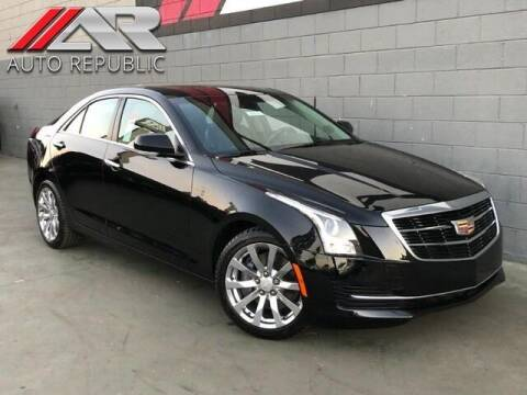 2017 Cadillac ATS for sale at Auto Republic Fullerton in Fullerton CA