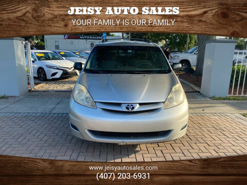 2006 Toyota Sienna for sale at JEISY AUTO SALES in Orlando FL