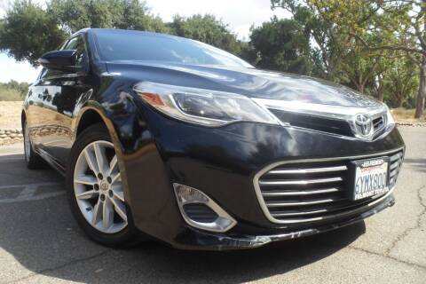 2013 Toyota Avalon for sale at CAR PLUS in Modesto CA