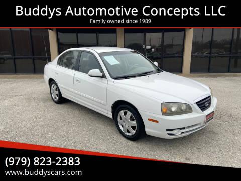 2006 Hyundai Elantra for sale at Buddys Automotive Concepts LLC in Bryan TX