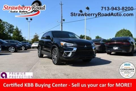 2018 Mitsubishi Outlander Sport for sale at Strawberry Road Auto Sales in Pasadena TX