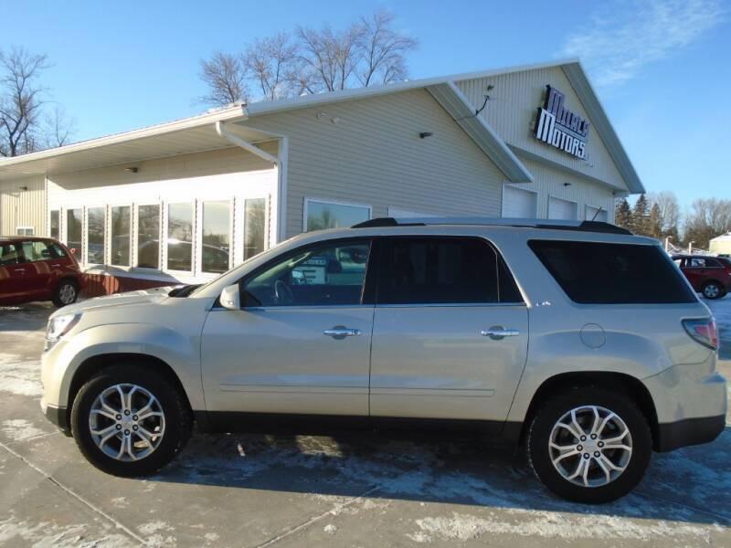 2014 GMC Acadia for sale at Milaca Motors in Milaca MN