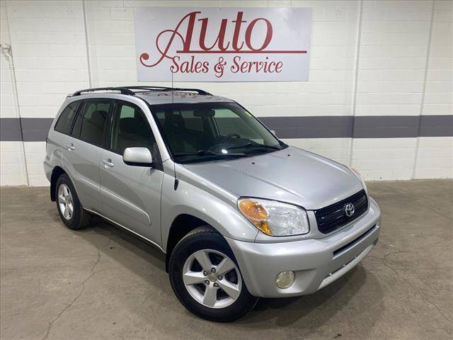 2004 Toyota RAV4 for sale at Auto Sales & Service Wholesale in Indianapolis IN