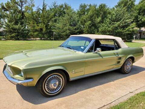 1967 Ford Mustang for sale at Kell Auto Sales, Inc - Grace Street in Wichita Falls TX