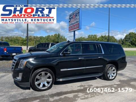 2020 Cadillac Escalade ESV for sale at Tim Short Chrysler in Morehead KY