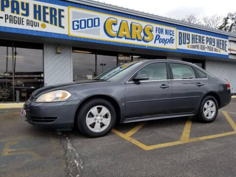 2010 Chevrolet Impala for sale at Good Cars 4 Nice People in Omaha NE