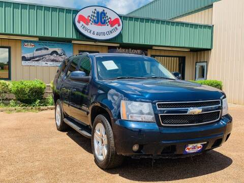 2008 Chevrolet Tahoe for sale at JC Truck and Auto Center in Nacogdoches TX