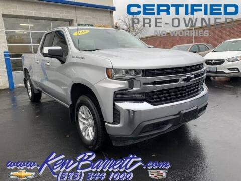 2019 Chevrolet Silverado 1500 for sale at KEN BARRETT CHEVROLET CADILLAC in Batavia NY