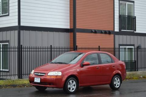 2006 Chevrolet Aveo for sale at Skyline Motors Auto Sales in Tacoma WA