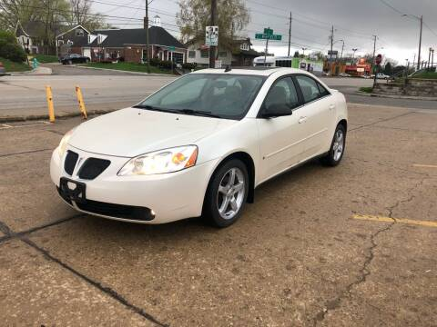 2008 Pontiac G6 for sale at JE Auto Sales LLC in Indianapolis IN