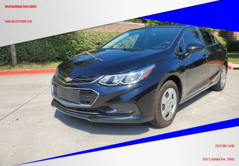 2018 Chevrolet Cruze for sale at International Auto Sales in Garland TX