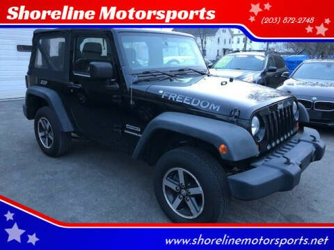 2011 Jeep Wrangler for sale at Shoreline Motorsports in Waterbury CT