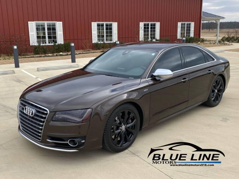 2013 Audi S8 for sale at Blue Line Motors in Bixby OK