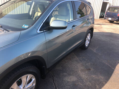 2012 Honda CR-V for sale at Berwyn S Detweiler Sales & Service in Uniontown PA