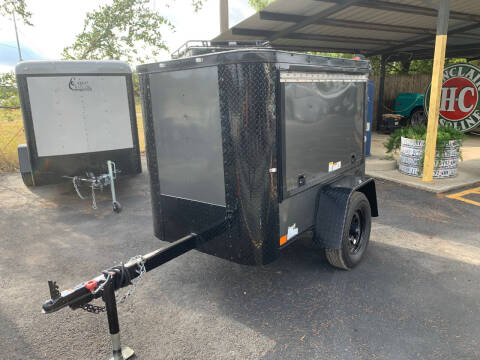 2020 CARGO CRAFT 4X6 DOOR for sale at Trophy Trailers in New Braunfels TX