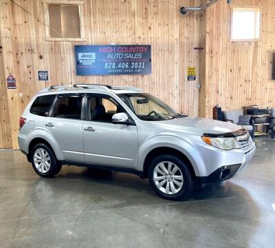 2011 Subaru Forester for sale at Boone NC Jeeps-High Country Auto Sales in Boone NC