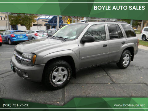 2006 Chevrolet TrailBlazer for sale at Boyle Auto Sales in Appleton WI