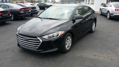 2018 Hyundai Elantra for sale at Nonstop Motors in Indianapolis IN