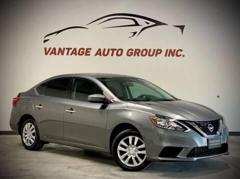 2016 Nissan Sentra for sale at Vantage Auto Group Inc in Fresno CA