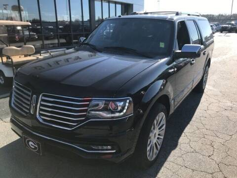 2017 Lincoln Navigator L for sale at BILLY HOWELL FORD LINCOLN in Cumming GA